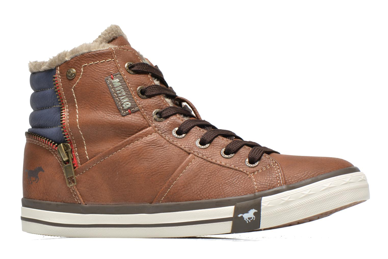 Sneakers Mustang shoes Dana Bruin achterkant