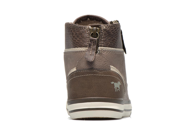 Baskets Mustang shoes Claudio Gris vue droite