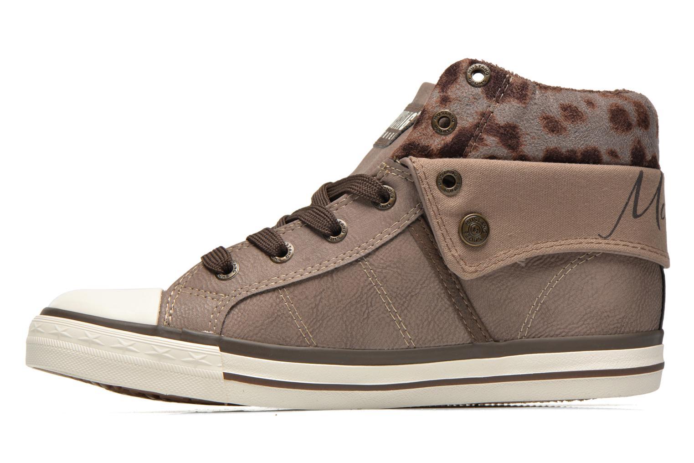 Baskets Mustang shoes Elena Gris vue face