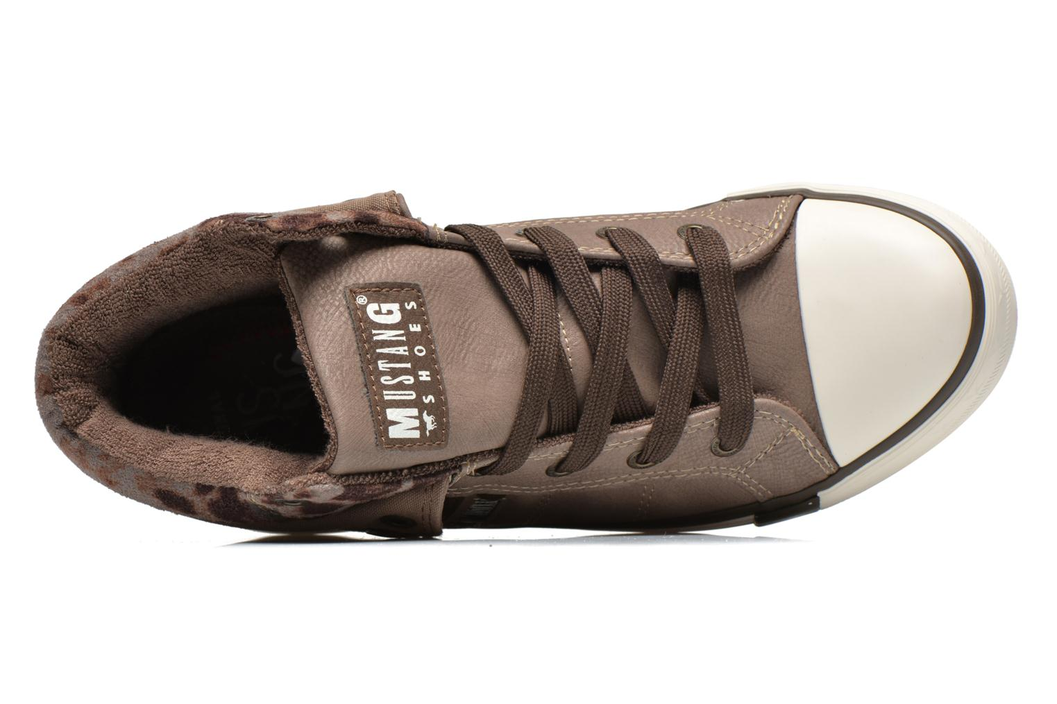 Sneakers Mustang shoes Elena Grigio immagine sinistra
