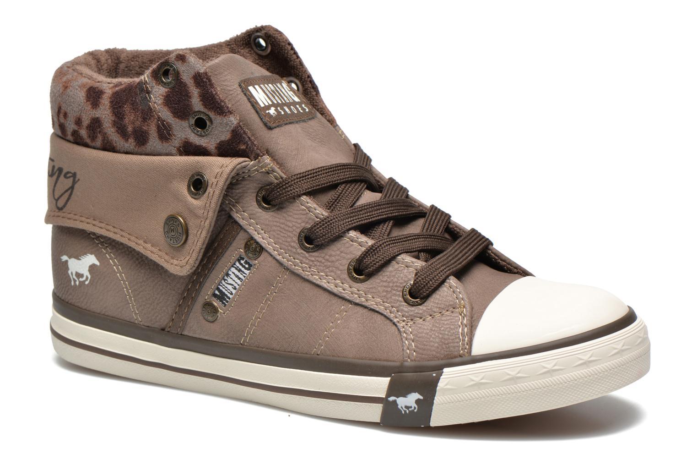 Baskets Mustang shoes Elena Gris vue détail/paire