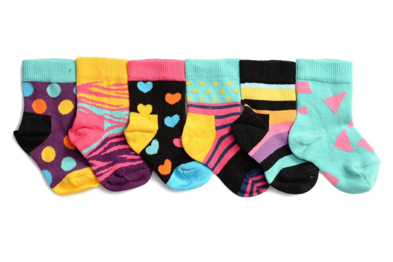 Chaussettes et collants Happy Socks Chaussettes Gift pack Pack de 6 Multicolore vue détail/paire