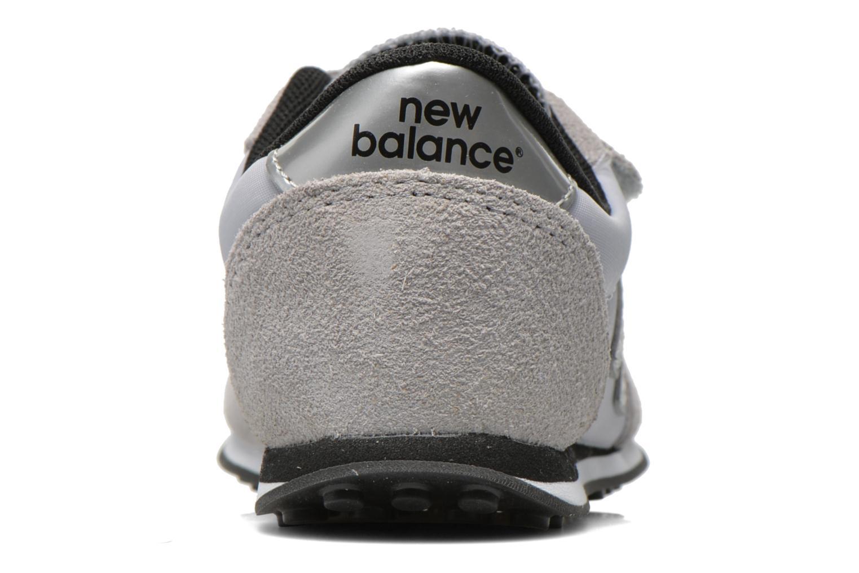 Baskets New Balance KE410 J Gris vue droite