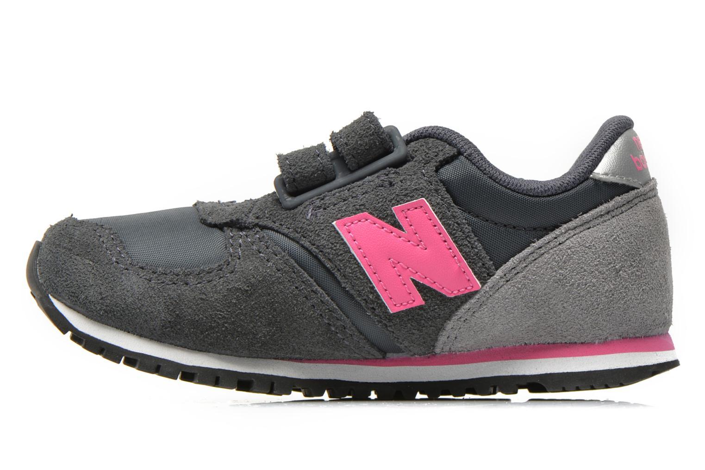 Sneaker New Balance KE420 I grau ansicht von vorne