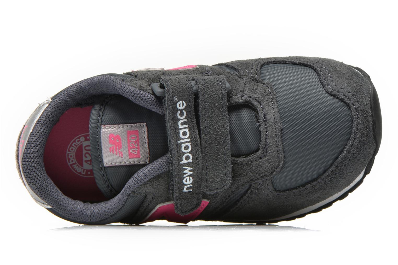 Sneaker New Balance KE420 I grau ansicht von links