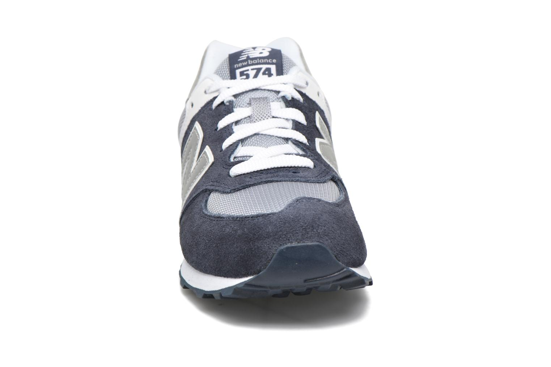 Sneaker New Balance KL574 J blau schuhe getragen