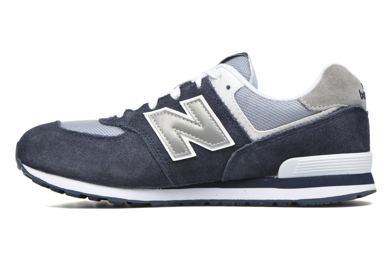 Sneaker New Balance KL574 J blau ansicht von vorne