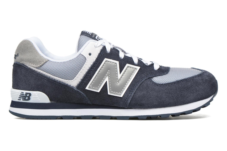 Sneaker New Balance KL574 J blau ansicht von hinten