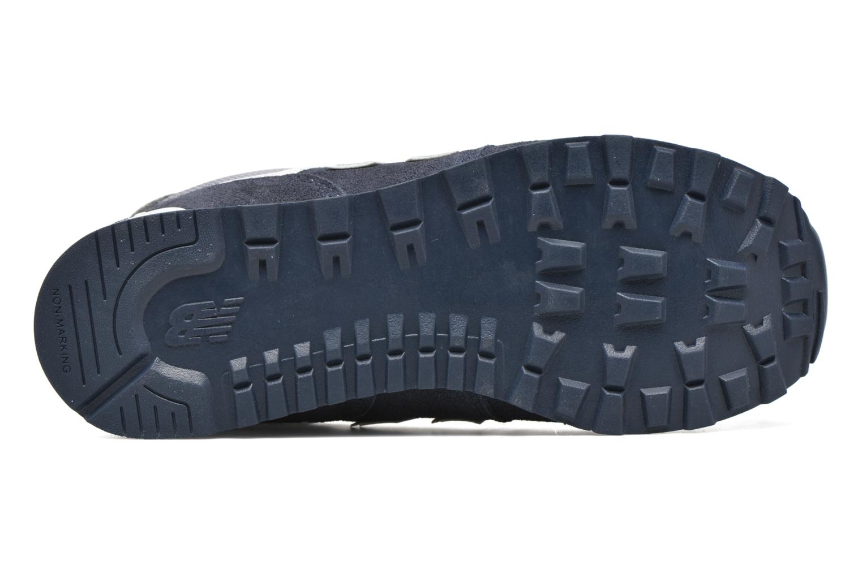 Sneakers New Balance KL574 J Blå bild från ovan