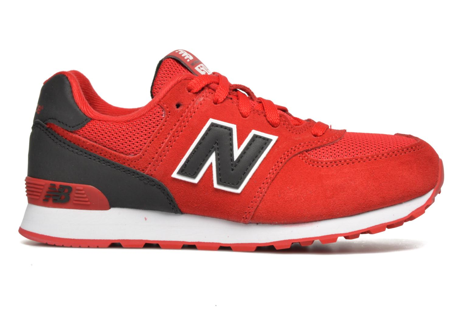 Trainers New Balance KL574 J Red back view