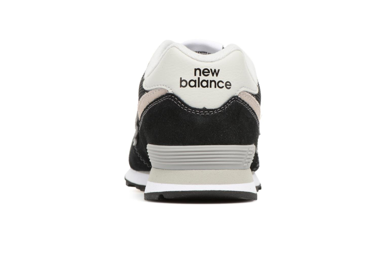 Trainers New Balance KL574 J Black view from the right