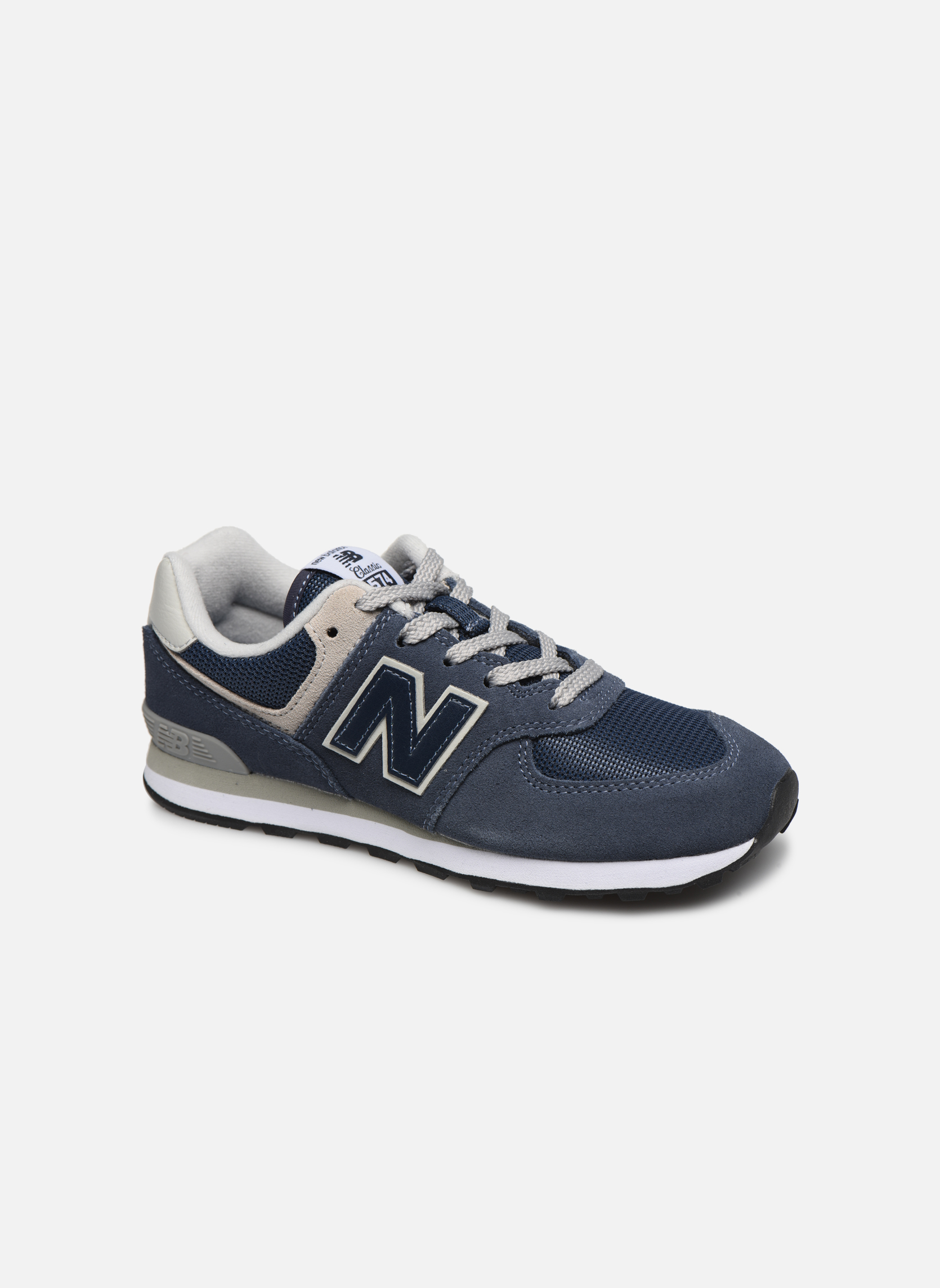 Trainers New Balance KL574 J Blue detailed view/ Pair view