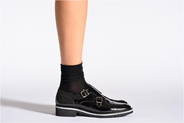 Sokken en panty's BLEUFORÊT Chaussettes fleur de peau Zwart model