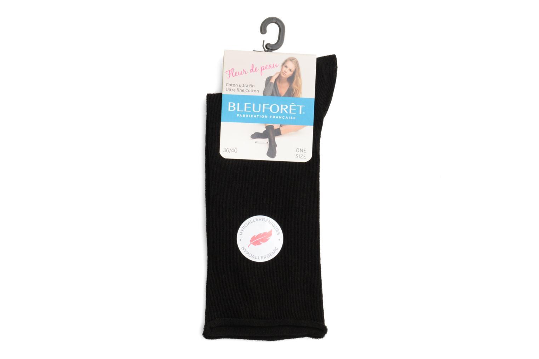 Socken & Strumpfhosen BLEUFORÊT Chaussettes fleur de peau schwarz ansicht von vorne