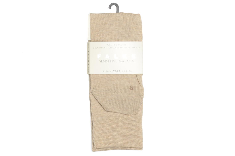 Chaussettes et collants Falke Chaussettes SENSITIVE Beige vue droite