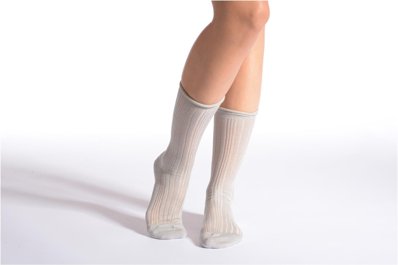 Socken LUREX 3290 gris clair