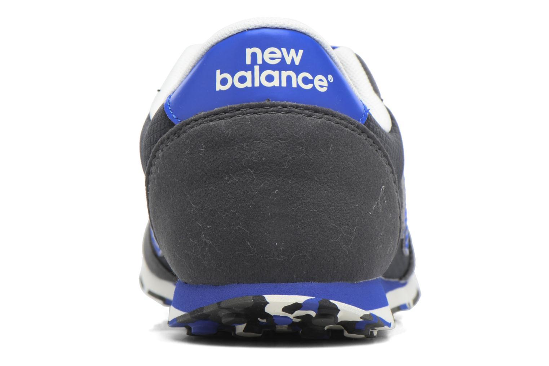 Baskets New Balance KL410 J Noir vue droite