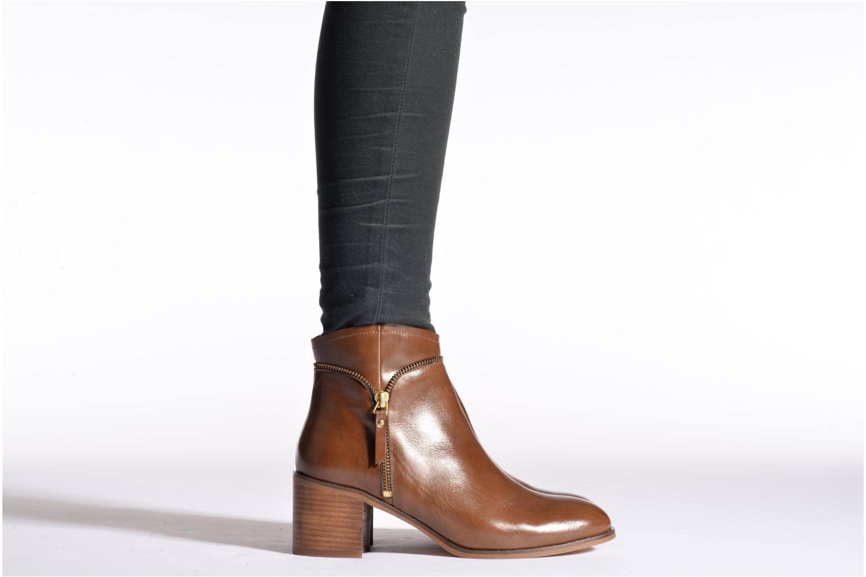 Bottines et boots Georgia Rose Cassine Noir vue bas / vue portée sac