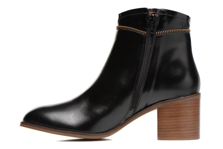 Bottines et boots Georgia Rose Cassine Noir vue face