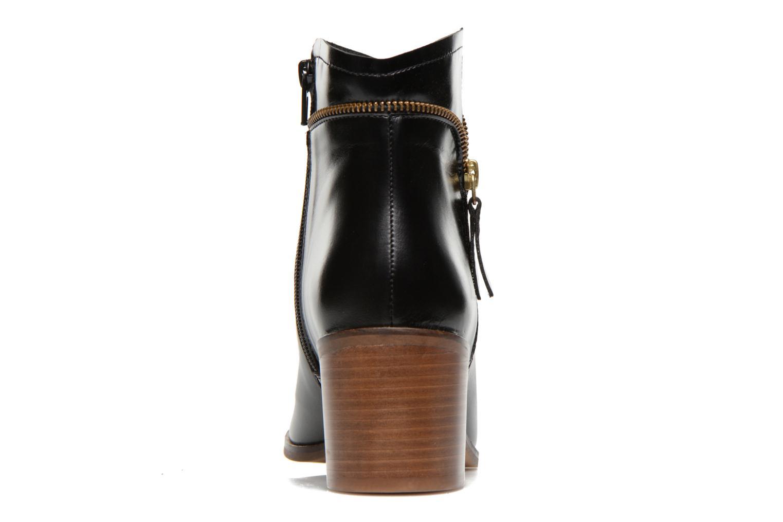 Bottines et boots Georgia Rose Cassine Noir vue droite