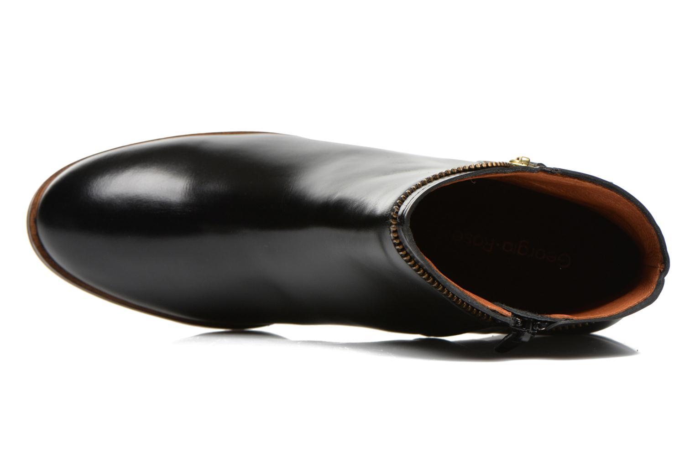 Bottines et boots Georgia Rose Cassine Noir vue gauche