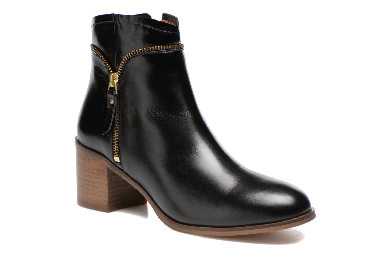 Bottines et boots Georgia Rose Cassine Noir vue détail/paire