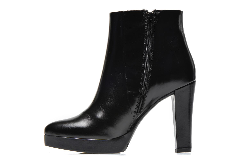 Bottines et boots Georgia Rose Tabatio Noir vue face