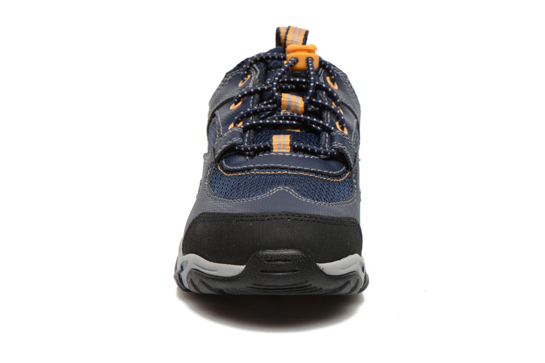 Baskets Timberland Earthkeepers Trail Force GTX Ox Bleu vue portées chaussures