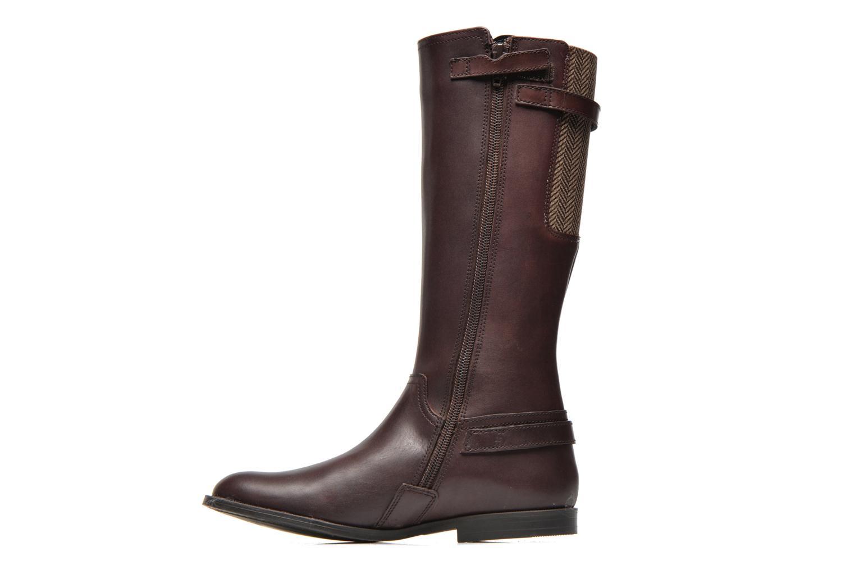 Tweed Brown leather