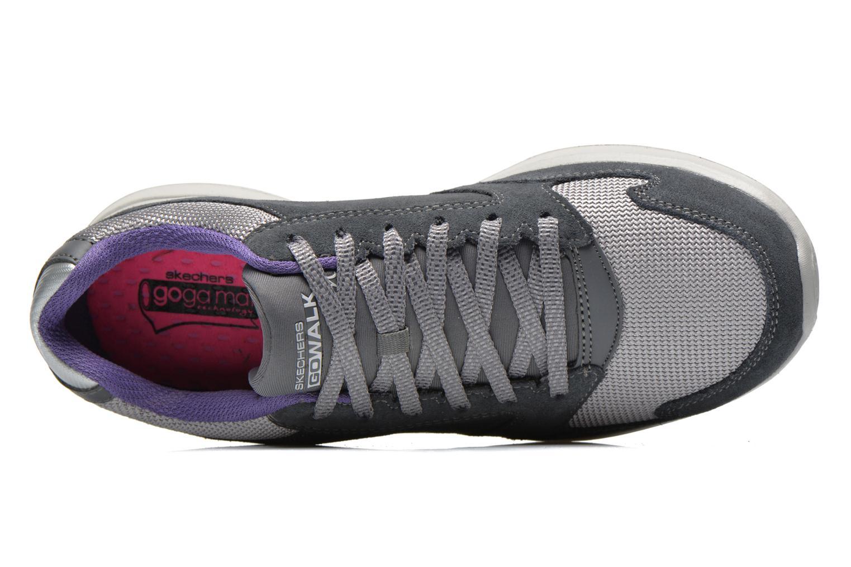 Sneakers Skechers GO Walk City Champion 13827 Grigio immagine sinistra