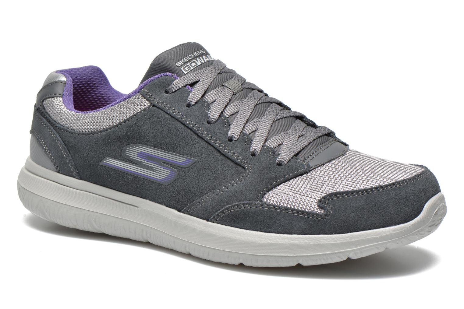 GO Walk City Champion 13827 Charcoal purple
