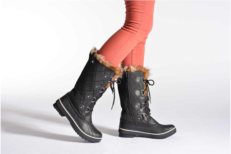 Chaussures de sport Skechers Highlanders Matterhorn Mountain 47700 Noir vue bas / vue portée sac