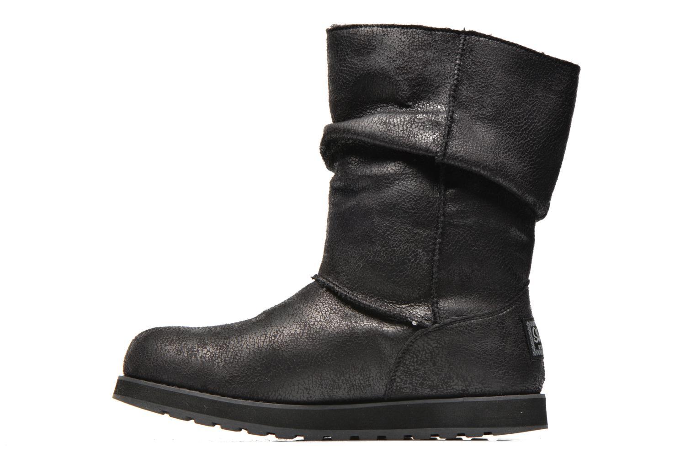 Bottines et boots Skechers Keepsakes Leather-Esque 48367 Noir vue face