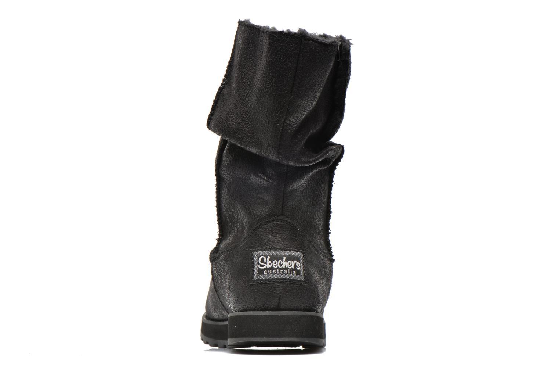 Bottines et boots Skechers Keepsakes Leather-Esque 48367 Noir vue droite
