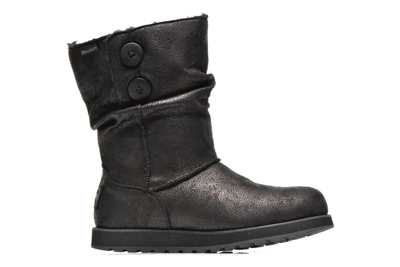 Bottines et boots Skechers Keepsakes Leather-Esque 48367 Noir vue derrière