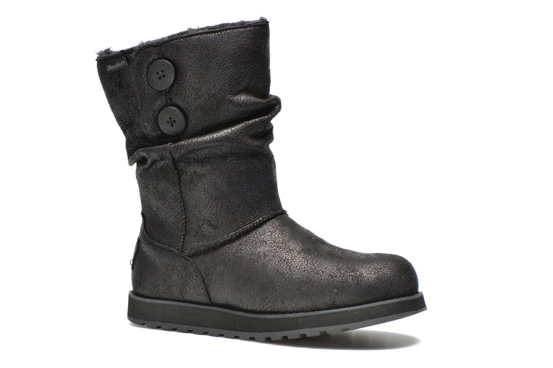 Bottines et boots Skechers Keepsakes Leather-Esque 48367 Noir vue détail/paire