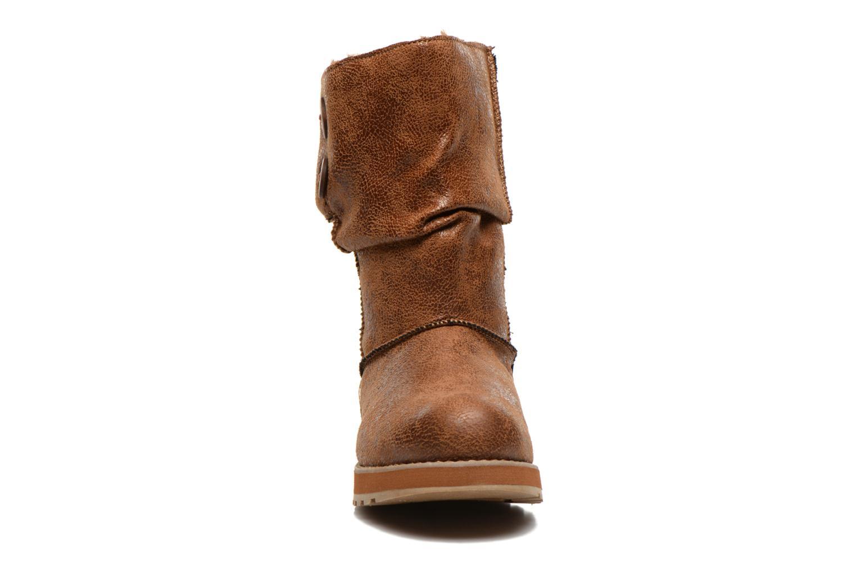 Boots Skechers Keepsakes Leather-Esque 48367 Brun bild av skorna på