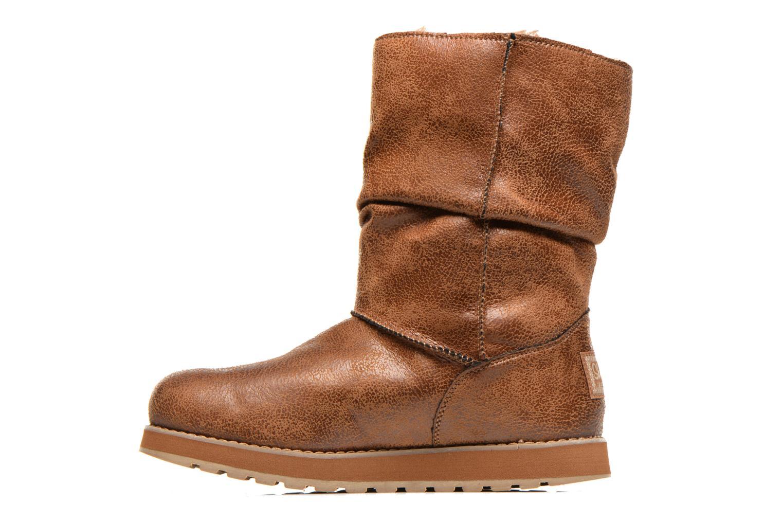 Bottines et boots Skechers Keepsakes Leather-Esque 48367 Marron vue face