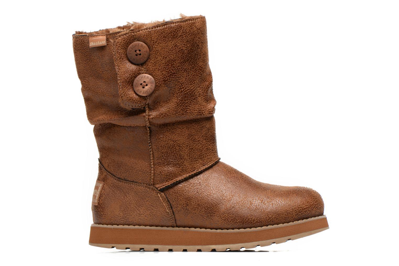 Boots Skechers Keepsakes Leather-Esque 48367 Brun bild från baksidan