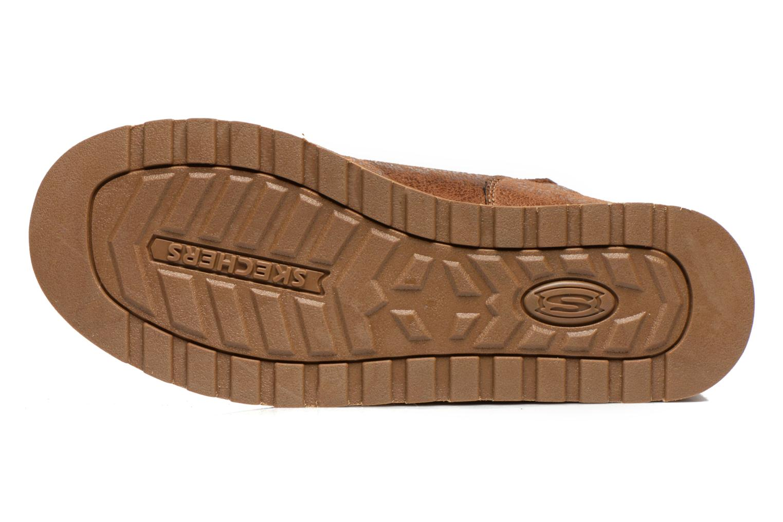 Boots Skechers Keepsakes Leather-Esque 48367 Brun bild från ovan