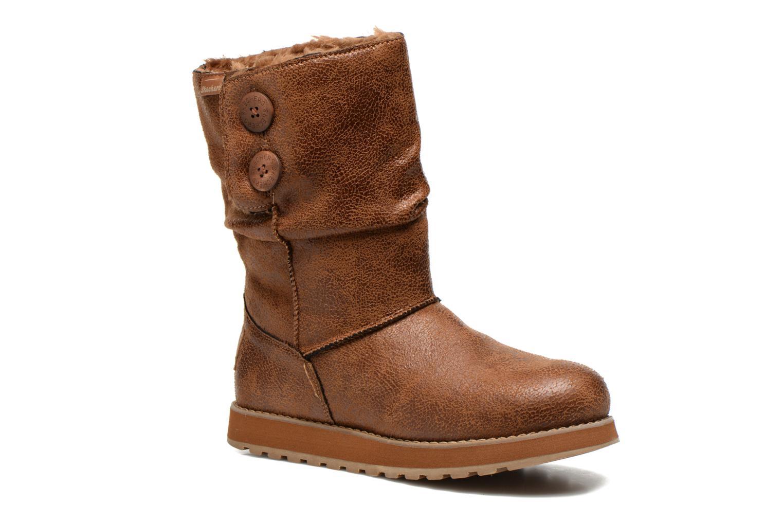 Boots Skechers Keepsakes Leather-Esque 48367 Brun detaljerad bild på paret