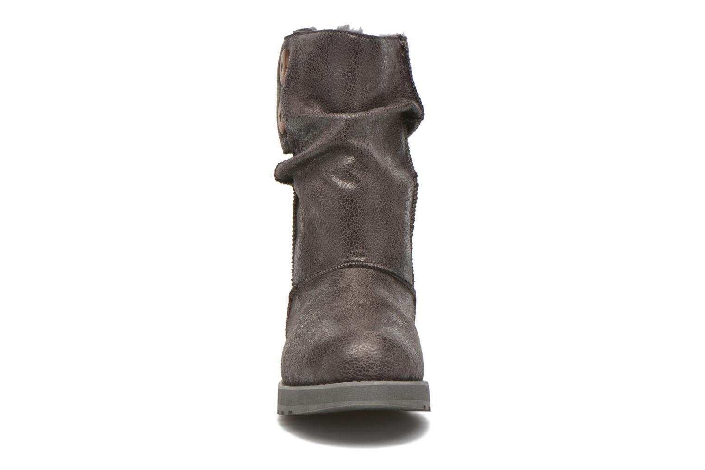 Stiefeletten & Boots Skechers Keepsakes Leather-Esque 48367 grau schuhe getragen