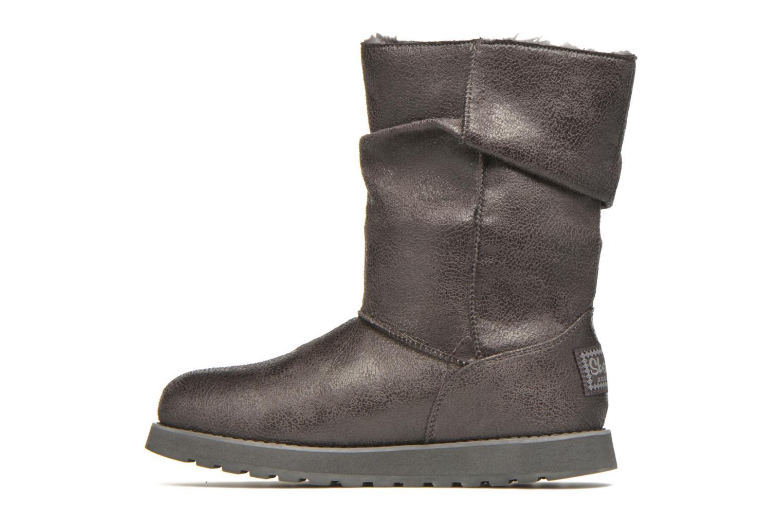 Bottines et boots Skechers Keepsakes Leather-Esque 48367 Gris vue face