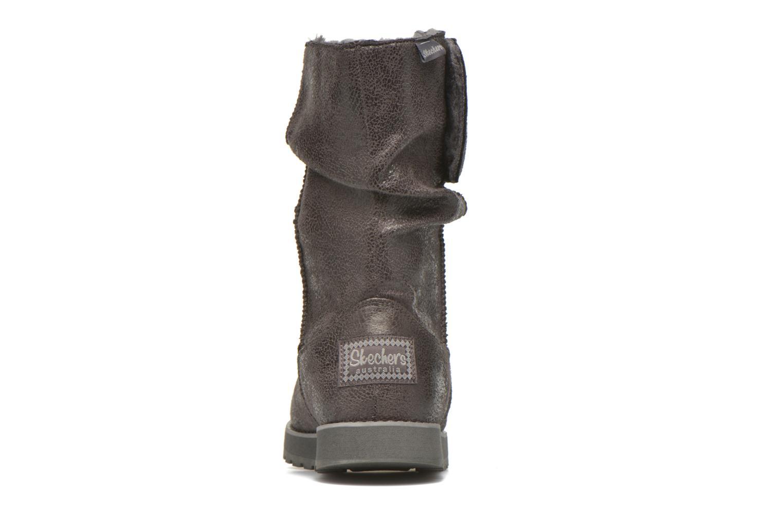 Bottines et boots Skechers Keepsakes Leather-Esque 48367 Gris vue droite