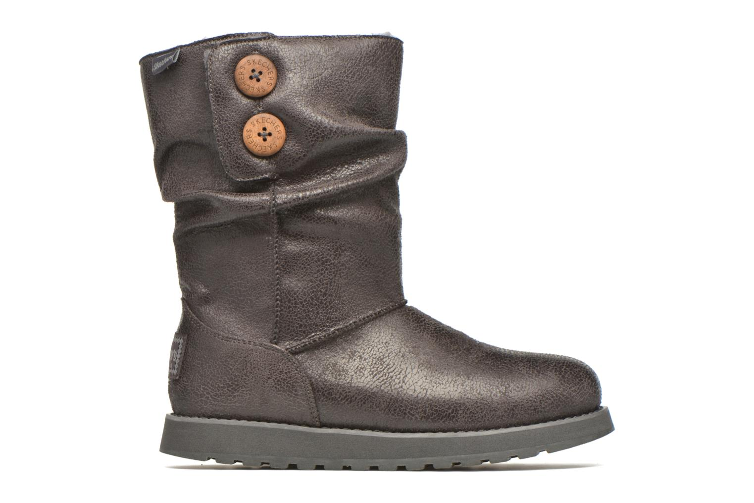 Boots en enkellaarsjes Skechers Keepsakes Leather-Esque 48367 Grijs achterkant