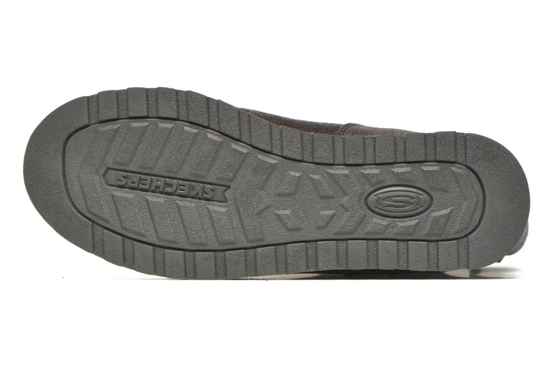 Bottines et boots Skechers Keepsakes Leather-Esque 48367 Gris vue haut