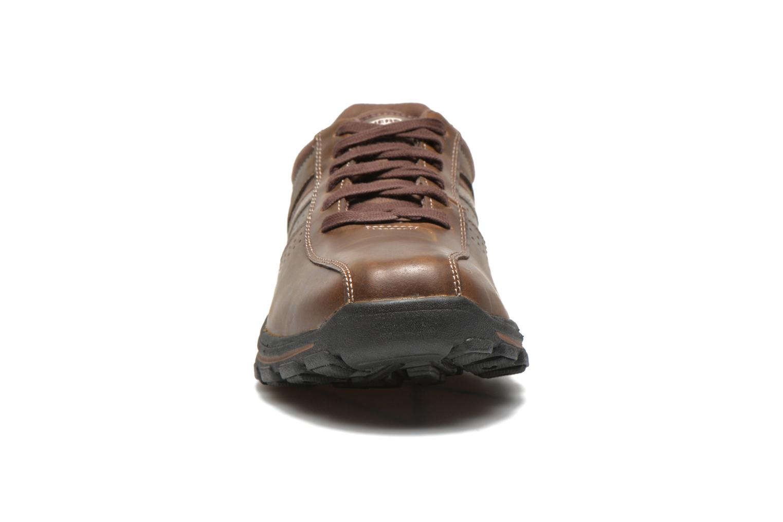 Sneakers Skechers Braver Alfano 64529 Brun bild av skorna på