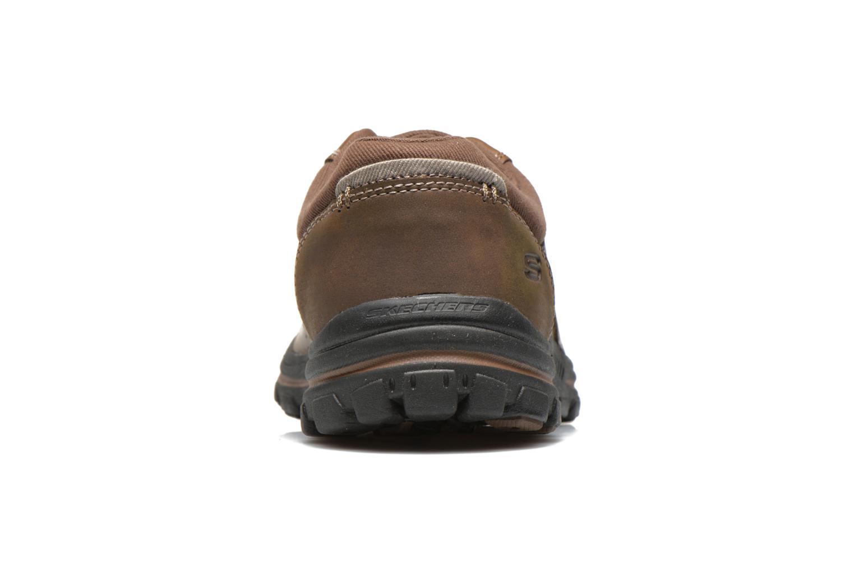 Sneaker Skechers Braver Alfano 64529 braun ansicht von rechts