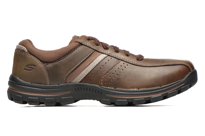 Sneaker Skechers Braver Alfano 64529 braun ansicht von hinten