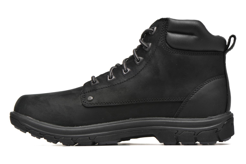 Bottines et boots Skechers Segment Amson 64593 Noir vue face